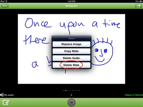 How to Storyboard with 30hands Mobile | Apps and Technology for Student Created Products | Scoop.it