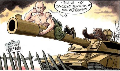 Putin's Big Barrel | Global Politics - Yemen | Scoop.it