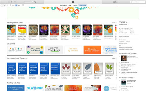 Apple publish 'For Education' collection on the App Store - Book Creator app | Blog | iPads | Scoop.it