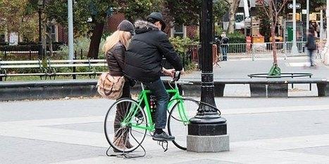 自転車によるスマホ充電サービスがニューヨークに登場! - インターネットコム   Active Commuting   Scoop.it