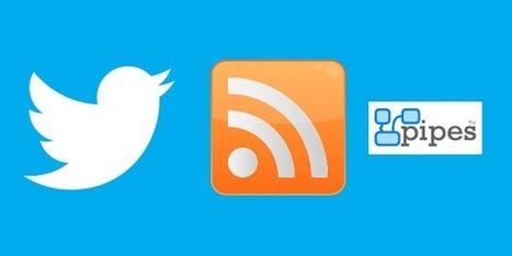 Twitter : générer des flux RSS avec la nouvelle API - Stratégies digitales | Veille, curation, IE, KM, E-réputation | Scoop.it