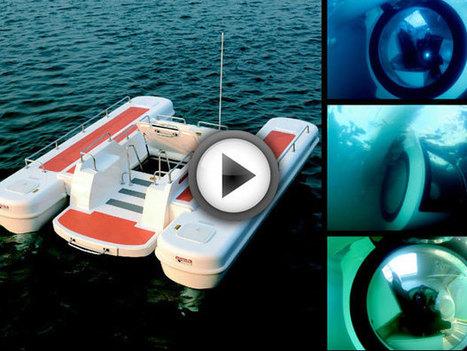 Ego, le bateau qui vous permet de contempler l'océan depuis une ... - Daily Geek Show   French DB home   Scoop.it