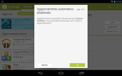 Google Play Store: dalla versione 4.3.10 è presente una gradita ... | Scoop Social Network | Scoop.it