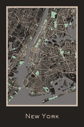 12 Stylized Maps That Express The Evolving Nature of the Urban Landscape | visual data | Scoop.it