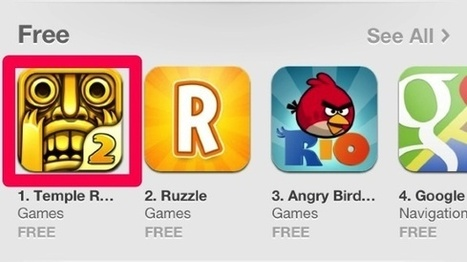 Temple Run 2, App Store'dan 24 saatte 500.000 kez indirildi   teknomoroNews   Scoop.it