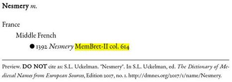 Mystery Monday: Nesmery | Name News | Scoop.it