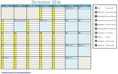 Calendario editorial mensual: test, plantilla y guía para planificar tus contenidos | Orientar | Scoop.it