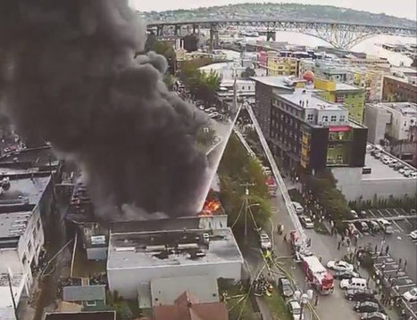 Two-Alarm Seattle Blaze Caught By Drone With Spectacular Hi-Def Footage | The impact of social media in emergencies | Scoop.it