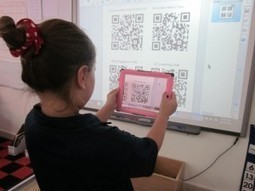 QR Codes, iPads, and 2nd graders. | A Person is People | QR Codes in the 21st Century | Scoop.it