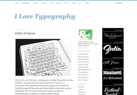 13 Excellent Typography Blogs to Read   Website Typography   Scoop.it