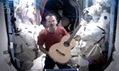 Space Oddity: Commander Chris Hadfield covers David Bowie in space | Planets, Stars, rockets and Space | Scoop.it