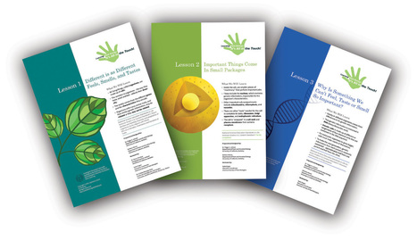 All In the Touch Curriculum (ages 10 - 13) Free to download - colorful activities | Plant Genetics, NGS and Bioinformatics | Scoop.it