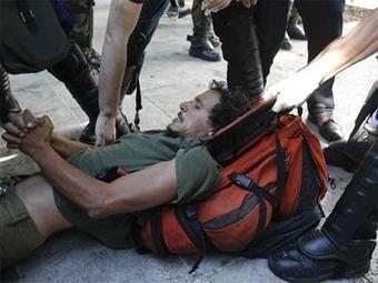 Detenidos 16 indignados en Atenas, entre ellos cuatro españoles | March to Athens | Scoop.it