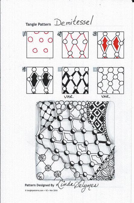 demitessel-1 | Artistic Line Designs-all free | Scoop.it