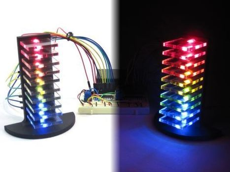 Mini LED Volume Towers (VU meters) | Arduino in the Classroom | Scoop.it