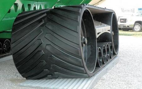 Tire and track makers offer new options | Ag app | Scoop.it