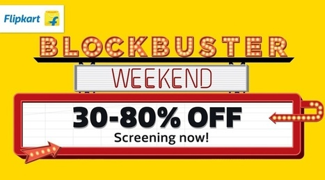 86576f310 Flipkart - BlockBuster Fashion Weekends Up to 30 to 80% OFF