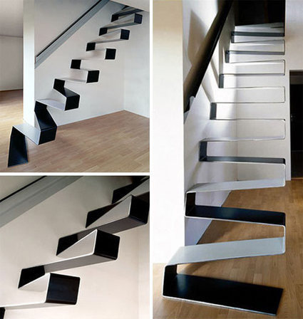 20+ Beautiful Modern Staircases - Design Milk | CRAW | Scoop.it