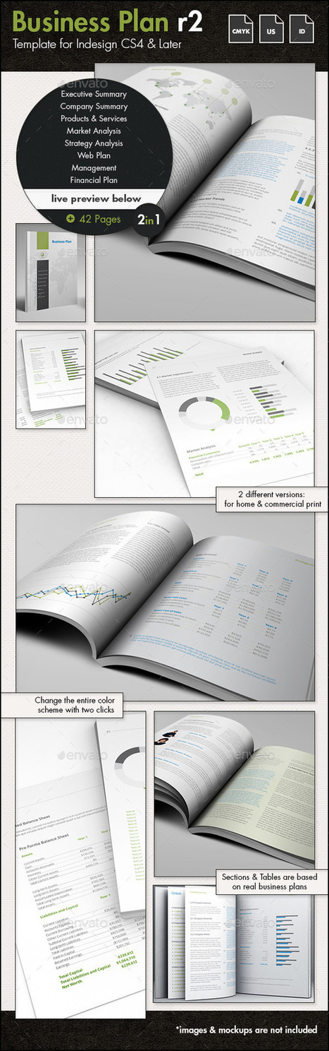 12 Professional Business Plan Templates | About Design | Scoop.it