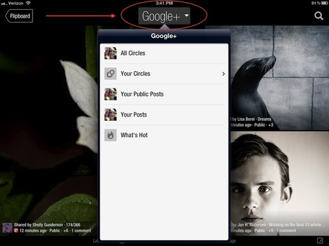 Everything You Wanted to Know About Google+ on Flipboard | Inside Flipboard | Social Media Mashup | Scoop.it