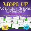 Common Core Vocabulary Graphic Organizers {Grades 2 - 5} - Tracee Orman | Common Core Resources for ELA Teachers | Scoop.it