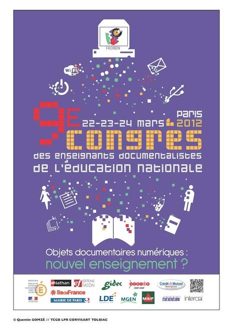 Les vidéos du congrès - 9e Congrès des Enseignants Documentalistes de l'Education Nationale   Pédagogie info-documentaire en CDI   Scoop.it