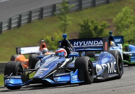 Barrichello celebra o seu primeiro top 10 na Indy   esportes   Scoop.it