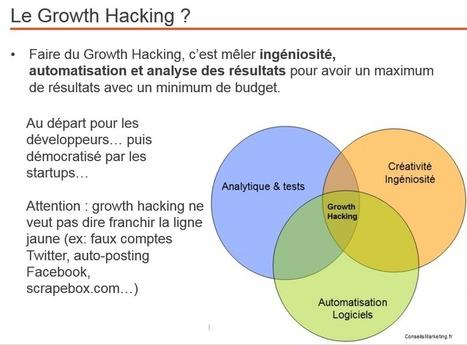 Un électrochoc pour votre business : 10 outils de Growth Hacking indispensables & 6 outils pour les commerciaux [Bonus : les 4 étapes du Social Selling] | conseilsmarketing | Scoop.it