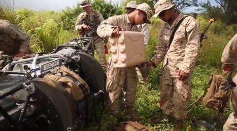 Boston Dynamics' BigDog Treks Through Rough Terrain With The USMC   TechCrunch   Robolution Capital   Scoop.it