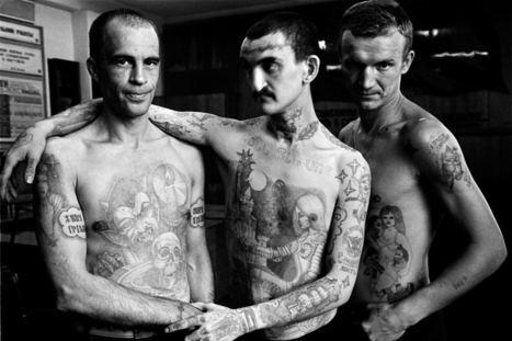 Russische Gefängnis-Tattoos: Kriminelle Karrieren in Haut - STERN.DE | Sankt Petersburg | Scoop.it
