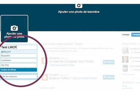Tutoriel : ouvrir un compte Twitter - Le web, c'est food ! | Outils CM, veille et SEO | Scoop.it