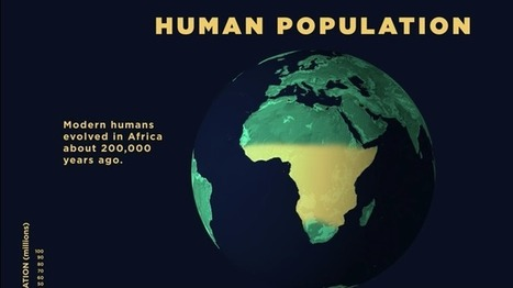 200,000 Years of Staggering Human Population Growth Shown in an Animated Map | Education-andrah | Scoop.it