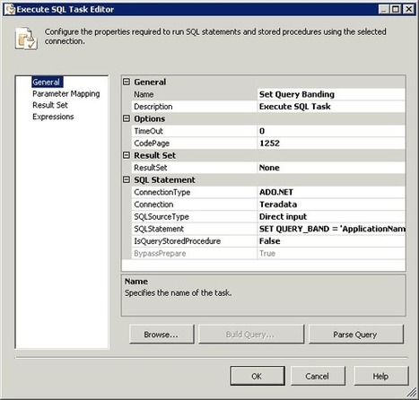 Working With Teradata Volatile Tables And ADO N