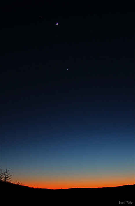 Photos: 30 Views of Venus, Jupiter & Moon – Feb. 2012   Amazing   Scoop.it