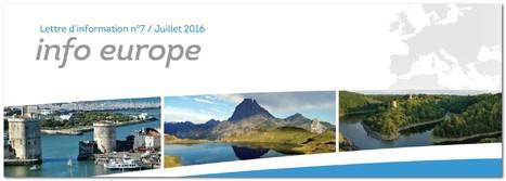 Conseil régional Nouvelle-Aquitaine: Lettre Info Europe | Fonds européens en Aquitaine Limousin Poitou-Charentes | Scoop.it
