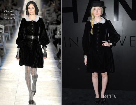 Elle Fanning In Chanel Couture – Chanel's Fine Jewelry 80th ... | Global Luxury | Scoop.it