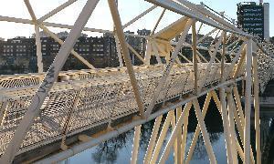 La pasarela sobre el Pisuerga en Juan de Austria se cierra al paso | Mexicanos en Castilla y Leon | Scoop.it