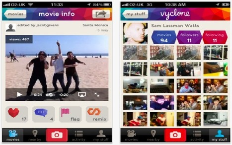 Vyclone Turns Your iPhone Video Into a Multi-Camera Masterpiece | Miscellaneous interests | Scoop.it