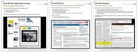 NoodleTools : Blog : Noodling » Blog Archive » NoodleTools Provides Its Show Me© Information Literacy Modules Gratis | Information Literacy 101 | Scoop.it