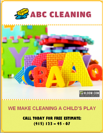 Free House Cleaning Flyers Download Templates