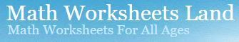 Math Worksheets Land - Tons of Printable Maths Worksheets For All Grade Levels | technologies | Scoop.it