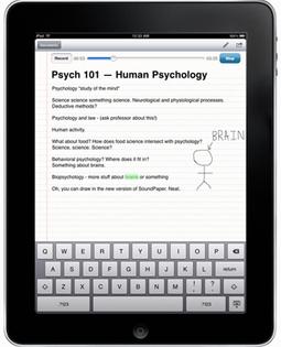 App of the week for journalists: SoundNote, an iPad app for interviews   Radio 2.0 (En & Fr)   Scoop.it