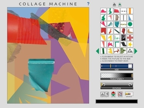 NGAkids Collage Machine | ESL- EFL and Art | Scoop.it