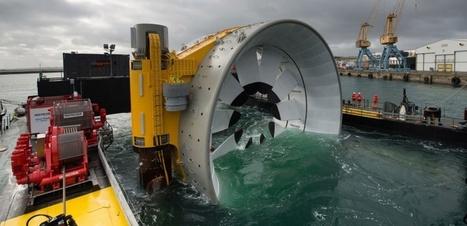L'énergie hydrolienne entre dans l'ère de l'industrialisation | Eolien-Energies-marines | Scoop.it