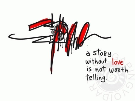A Story Without Love - Gaping Void Art | Learning Leaders | Scoop.it