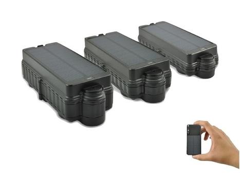 TK10S solar waterproof magnetic gps tracker wit