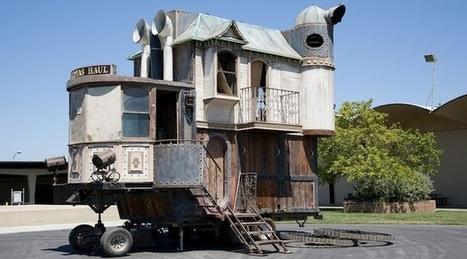 7 maisons au design steampunk | Inspiration Rôlistique | Scoop.it