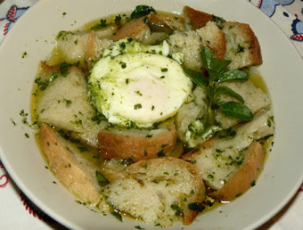 Outras Comidas: Açorda de Poejos com Ovos (Poejada) | Foodies | Scoop.it