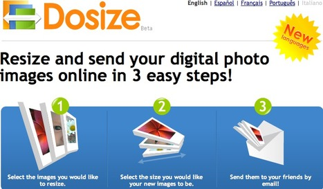 Dosize: Resize digital photo images online - Free! | Technology Ideas | Scoop.it
