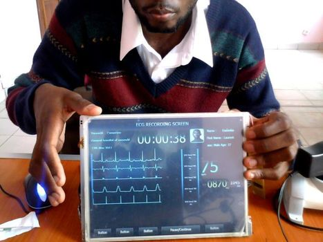 CardioPad : La tablette médicale camerounaise marque le début d'une nouvelle ère pour les soins cardiaques en Afrique | Innovation Santé | Scoop.it